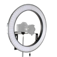 Falcon Eyes Bi-Color LED Ringlampe Dimmbar DVR-512DVC auf 230V