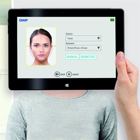 Digitales Passfoto