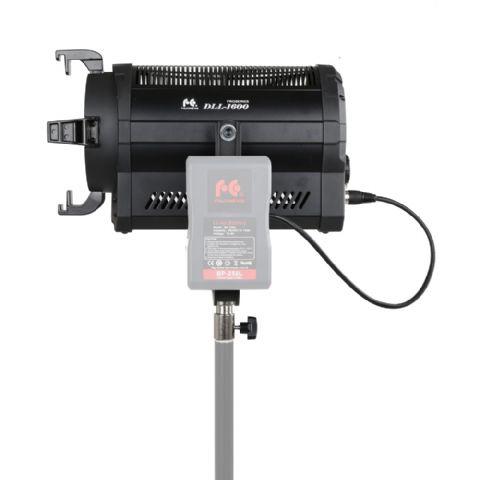 falcon eyes 5600k led spot lampe dimmbar dll 1600r auf 230v oder akku. Black Bedroom Furniture Sets. Home Design Ideas