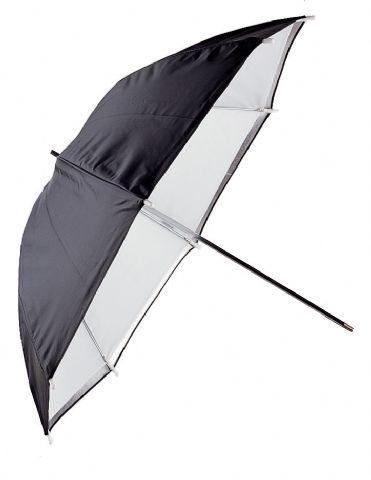 falcon eyes reflexschirm urn 32twb diffu wei schwarze h lle 80 cm. Black Bedroom Furniture Sets. Home Design Ideas