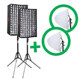 Falcon Eyes Flexibel LED Panel RX-12TD Set 2