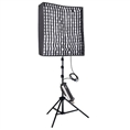 Linkstar Flexibles Bi-Color-LED-Panel RX-11TD mit Softbox, Wabe und Stativ