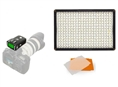 Pixel LED Lampe Set Dimmbar DL-913 mit Pixel King Pro voor Canon