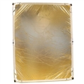 Falcon Eyes Flag Panel CR-B1520GW Gold/Weiss 150x200cm