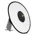 StudioKing Faltbarer Speedlite Beauty Dish 45 cm