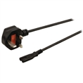 Falcon Eyes Stromkabel C7 mit UK Adapter 5m