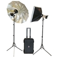 Falcon Eyes Studioblitz Set Satel One Kit auf Akku