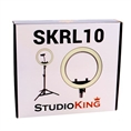 StudioKing Bi-Color LED Ringlampe Set SKRL10